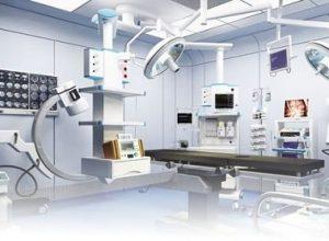 ameliyat masası üzerindeki partiküllerin incelenmesi