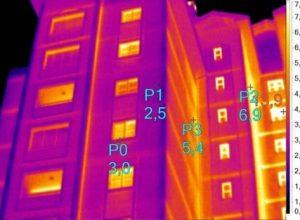 binalardaki ısı kayıplarının termal kamera ile ölçümü