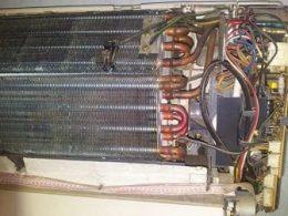 bir split klima iç ünitesi