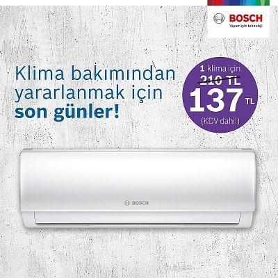 Bosch Klima Bakım Kampanyası