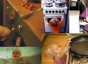 ev kazaları ve çocuklar